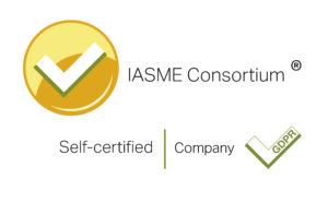 IASME GDPR Certificate Badge
