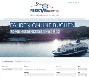 Screenshot of FerryKnowHow.pro
